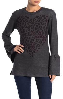 Couture Go Bell Sleeve Basic Hacci Sweater