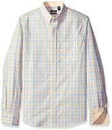 Izod Men's Essential Tattersall Long Sleeve Shirt