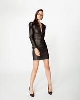 Nicole Miller Glitter Knit Dress