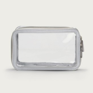 The White Company Travel Cosmetics Case, Clear, One Size
