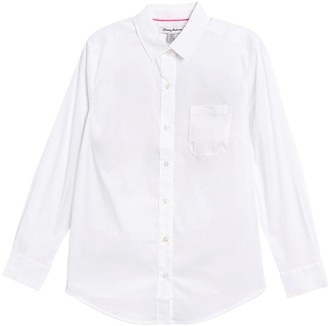 Tommy Bahama Flamingo Long Sleeve Button-Down Shirt