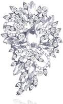 Yilanair Rhinestone Crystal Multicolor Bling Brooch Pin For Wedding