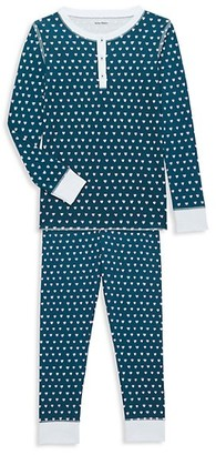 Roller Rabbit Baby's, Little Kid's & Kid's Hearts Two-Piece Cotton Pajama Set