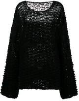 Ann Demeulemeester Mohair and Alpaca oversized sweater