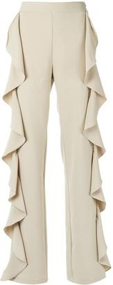 Olympiah Ruffle Trousers