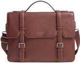 Ted Baker 'Flame' Pebbled Leather Messenger Bag