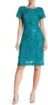 Sandra Darren Sequin Embellished Dress
