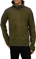 Champion Hooded Pill-Resistant Microfleece Jacket