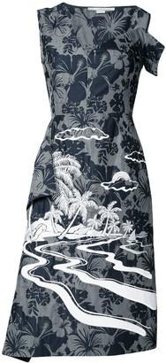 Stella McCartney Tropical print dress