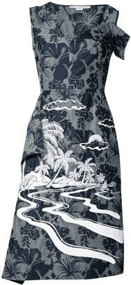 Stella McCartney Tropical print dress