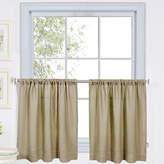 Asstd National Brand Cameron Rod-Pocket Window Tiers