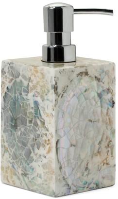Ladorada Mother-of-Pearl Soap Dispenser