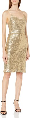 Jenny Yoo Women's Emery Short Sequin Dress