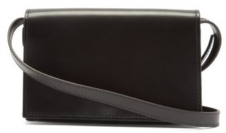 Lemaire Satchel Mini Leather Cross-body Bag - Black