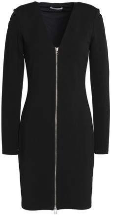 Alexander Wang Zip-Detailed Stretch-Jersey Mini Dress
