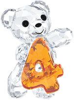 Swarovski Collectible Figurine, Number Four Kris Bear