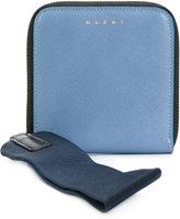 Marni zip around wallet