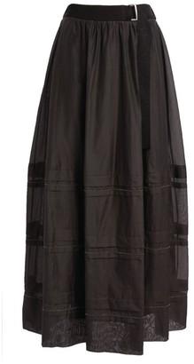 Peserico Chain-Detail Maxi Skirt