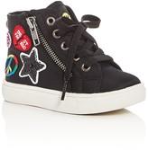 Steve Madden Girls' Emoji Part 2 High Top Sneakers