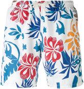 Drumohr tropical print swim shorts - men - Polyester - S