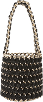 Tambonita Gold Chain Shimmer Bucket Bag