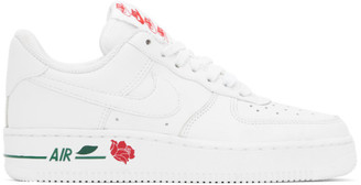 Nike White Air Force 1 07 LX Sneakers