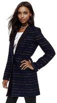 Juicy Couture Textured Stripe Coat