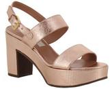 L'Autre Chose Calf Leather Platform Sandals