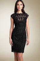 by Sherrie Bloom & Peter Noviello Lace Sheath Dress