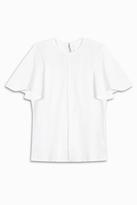 VICTORIA, VICTORIA BECKHAM Circle Sleeve T-shirt