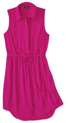 Mossimo Women's Sleeveless Shirt Blouse Dress - Assorted Colors