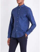 Ps By Paul Smith Navy Patch Pocket Casual Shirt