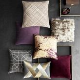 Solid Velvet Pillow Cover, Moonlit Violet