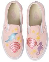 Vans Girl's Classic Mermaid Slip-On Sneaker