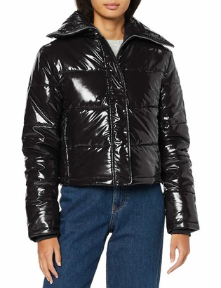 Find. Amazon Brand Women's Jacket in High-Shine Puffa