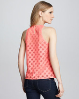 Nanette Lepore Just Dance Sheer Top