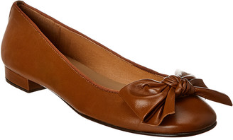French Sole Rome Leather Flat