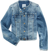GUESS Embellished Denim Jacket, Big Girls (7-16)