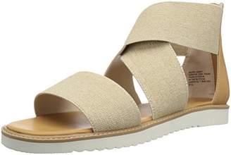 BC Footwear Women's Ring Toss Flat Sandal M US