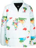 Vans World Map padded jacket