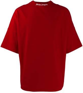 Palm Angels logo print oversized T-shirt