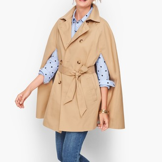 Talbots Belted Trench Cape