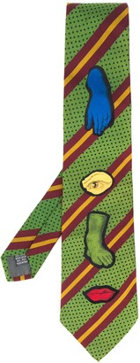 Jean Paul Gaultier Pre Owned 1990s Body Parts Tie
