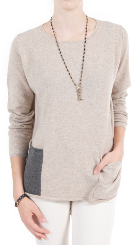 Chinti and Parker Pocket Sweater