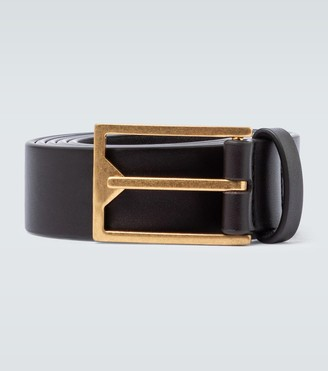 Bottega Veneta Square buckle belt