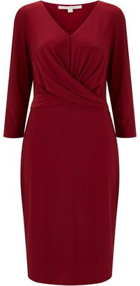Nougat Montreux Waist Detail Dress