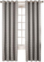 Sun Zero Sun ZeroTM Cadiz Chevron Room-Darkening Grommet-Top Curtain Panel