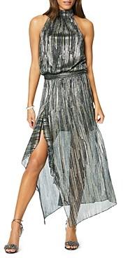 Ramy Brook Monica Metallic Midi Dress