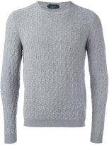 Zanone fine knit jumper - men - Angora/Virgin Wool - 56