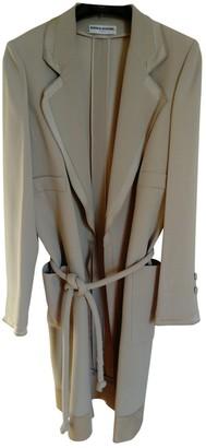 Sonia Rykiel Beige Cotton Trench Coat for Women